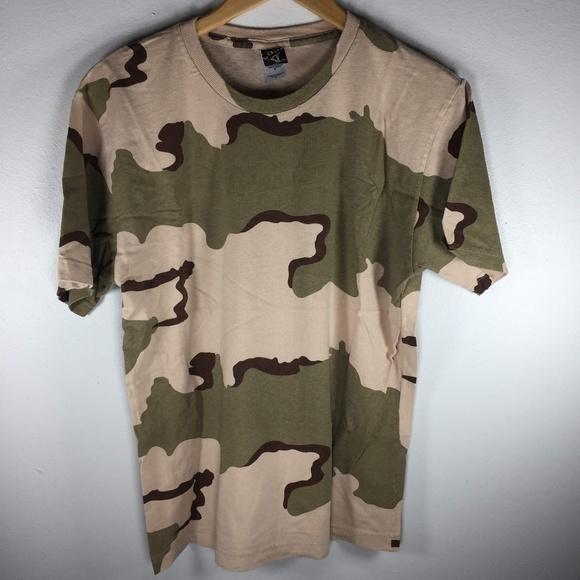9897643efc9b2 Code V Shirts | Desert Camo Short Sleeve Tee Medium Mens | Poshmark